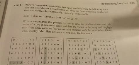 pattern recognition questions and answers solved pattern recognition consecutive four equal numbe