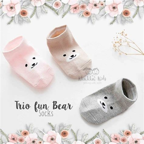 Trio Bears Socks trio socks kkakka