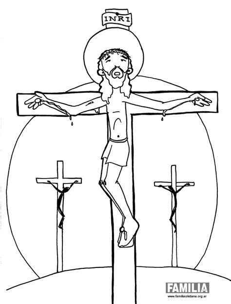 imagenes de jesus crucificado para colorear familia cristiana de paulinas argentina