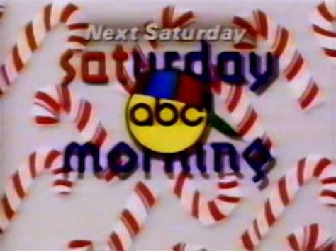 promo abc saturday morning twas  week  christmas  abc youtube