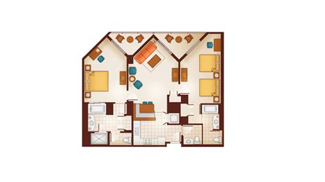 aulani floor plan dvc aulani resort and spa resales point charts