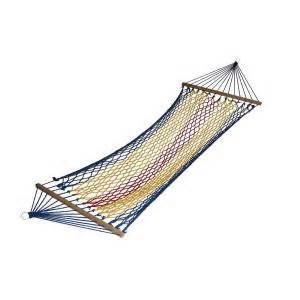 home depot rope swing ore international 6 ft swing polyester rope hammock in