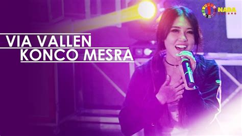 download lagu via vallen konco mesra via vallen konco mesra with one nada official music video