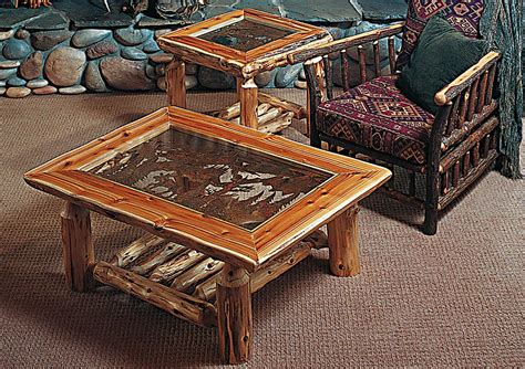 Log End Tables And Coffee Tables Log End Tables And Coffee Tables Coffee Table Design Ideas