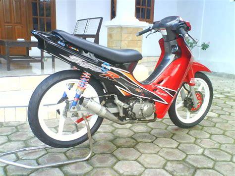Motor Shogun 110 gambar modifikasi suzuki shogun r 110 terbaru 2013
