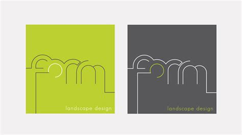 Landscape Forms Logo Form Landscape Design Identity Development