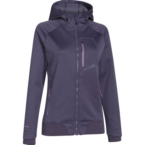 Armour Coldgear Jacket armour coldgear infrared hooded softershell jacket s backcountry