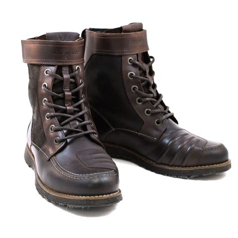 Brown Rev It Royale Motorcycle Riding Boots