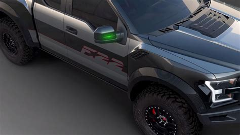 F150 Fighter Jet by Fighter Jet Inspired Ford F 150 Raptor Boasts 545 Hp