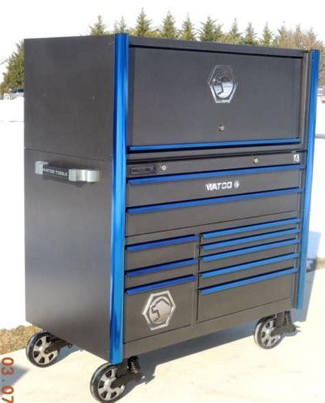 Matco 6s Hutch matco 6s 31 quot grey vein blue trim bank tool box toolbox hutch