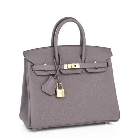 Birkin Ghillies 25 Cm Handbags 6813 1 hermes etain baby birkin 25cm togo gold hardware satchel