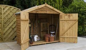 small wooden garden sheds uk