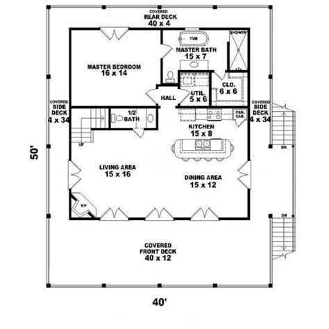 House Plans With 5 Bedrooms House Plan 053 00081 Coastal Plan 1 731 Square Feet 3