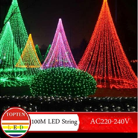 Warm White Light Twinkle Light Lu Natal novelty 600 leds 100m flasher string lighting for outdoor