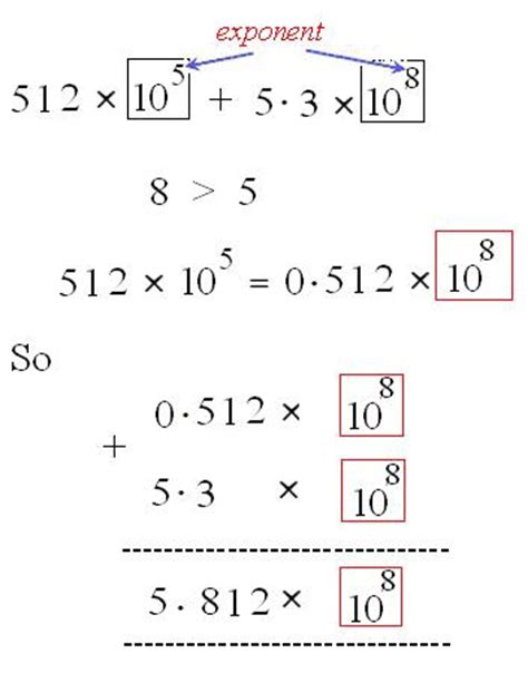Adding And Subtracting In Scientific Notation Worksheet by Adding Scientific Notation With Different Exponents Calculator