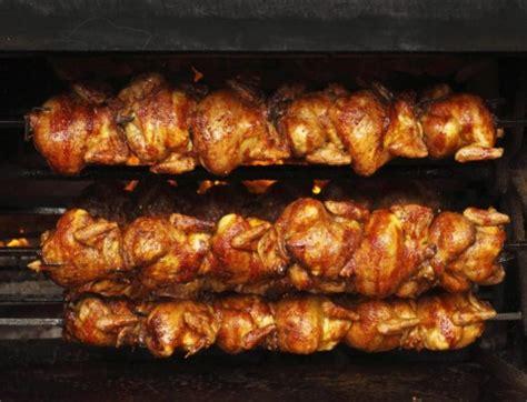 Pemanggang Ayam Gas jual alat panggang ayam dengan pemutar panggangan