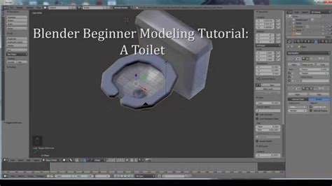 blender tutorials video beginners blender 2 72b beginner modeling tutorial a toilet