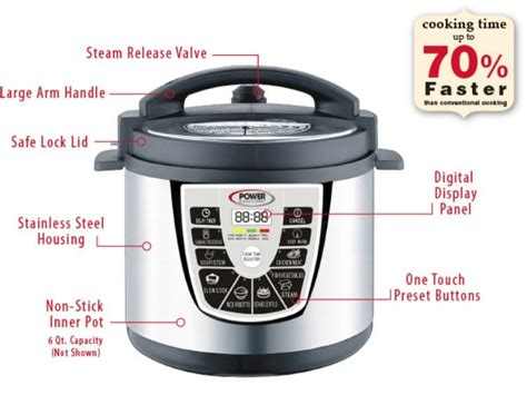 the power pressure cooker xl oh the savory benefits for the power pressure cooker xl