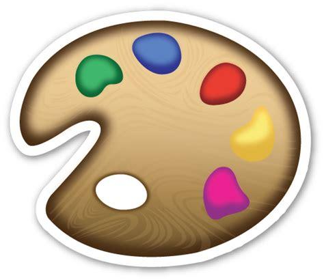 paint emoji artist palette