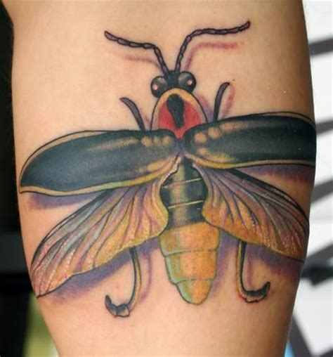 lightning bug tattoo insect tattoos pinterest