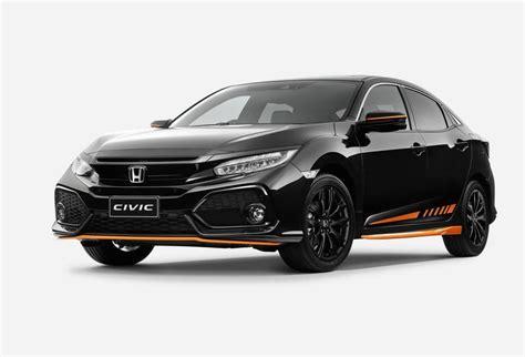 Honda Civics by Honda Australia Adds Orange Edition Black Pack To Civic