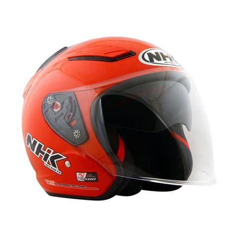 Helm Nhk R1 Solid Murah jual nhk r1 helm half solid harga kualitas terjamin blibli