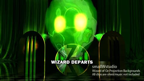 wizard of oz background wizard of oz stage projection backgrounds