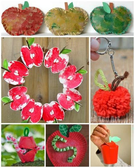 apple craft projects apple crafts apples and crafts on