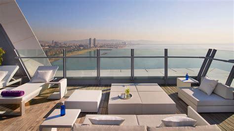 quelles sont les plus belles terrasses de barcelone - Terrasse W Barcelona