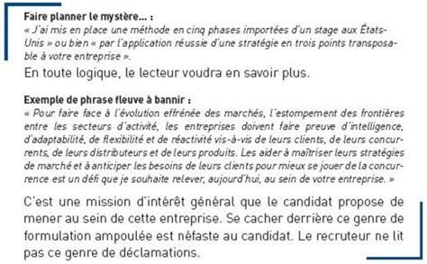 Introduction Entreprise Lettre De Motivation lettre de motivation une structure en trois l
