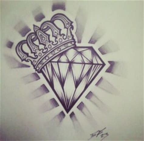 tattoo diamond drawing hearts with crowns and diamonds tattoo designs google