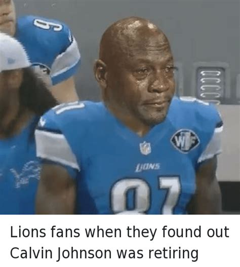 Calvin Johnson Meme - funny michael jordan crying memes of 2017 on sizzle