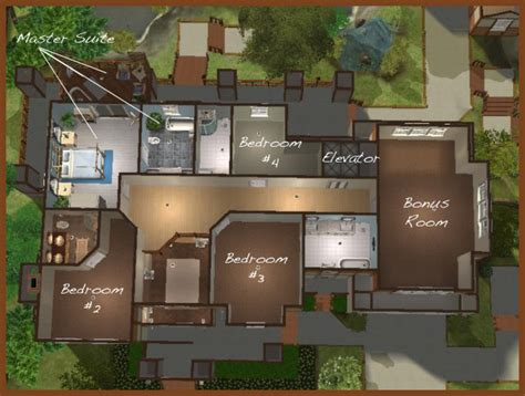house layout sims mod the sims the lake house potter s grove collection
