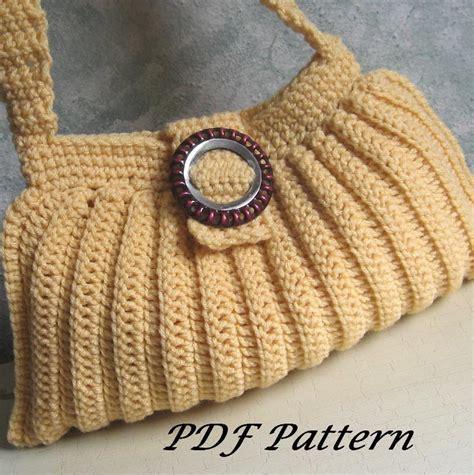 crochet patterns bags easy easy crochet shoulder bag purse by reddshu7083977 craftsy