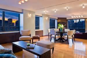 manhattan penthouse modern dining room new york by