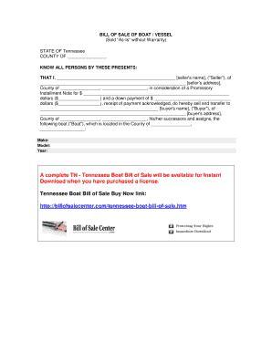 tennessee boat bill of sale pdf boat bill of sale tn edit fill print download best