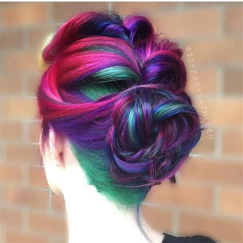 clip in hair extensions baton best 25 multicolored hair ideas on