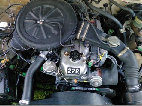 1982 Toyota Carburetor Engine