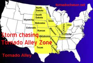 tornado alley map tornado alley maps and information
