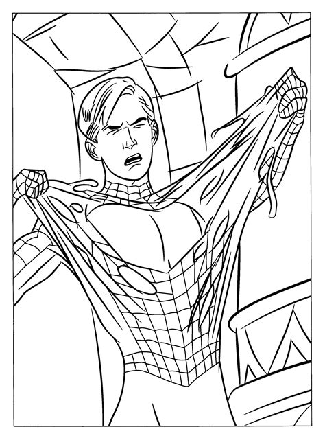 spiderman 3 coloring pages coloringpages1001 com