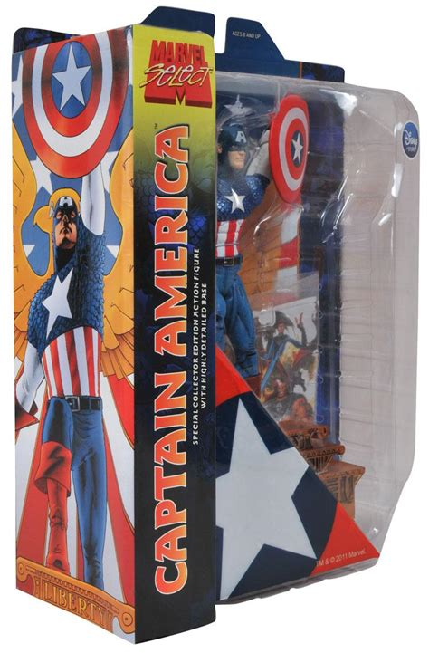 Marvel Select Captain America Disney select packaged images of disney store exclusive marvel select captain america and