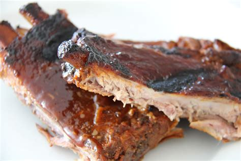 a bountiful kitchen slow cooked bbq ribs