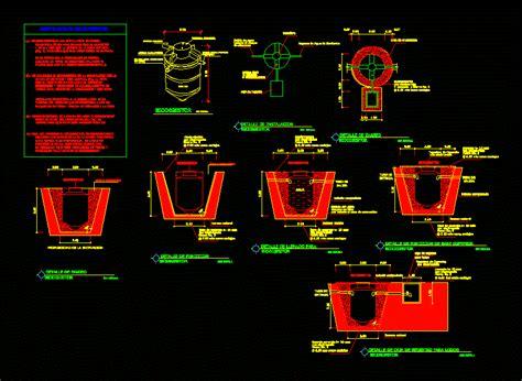 bio digester dwg detail  autocad designs cad