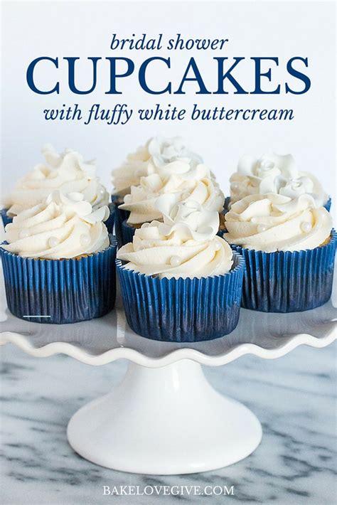 best bridal shower cupcake recipes fluffy white buttercream recipe pearls bridal shower