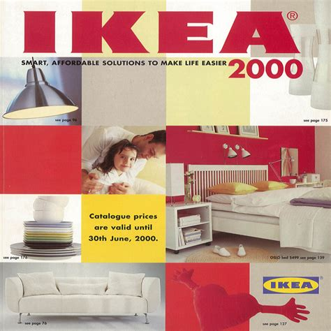old ikea catalogs a new millennium with the 2000 ikea catalogue ikea catalogue covers pinterest ikea