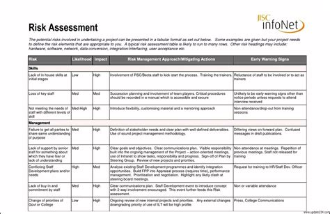 task risk assessment template project risk assessment template resumess zigy co