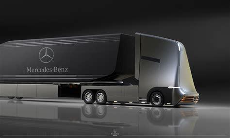 concept semi truck truck of the future semi autonomus mercedes x