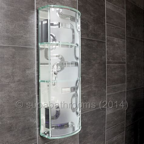 frosted glass bathroom cabinet showerdrape ferrara white frosted glass single bathroom