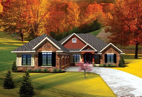 Build 2 Car Garage house plan 73141 at familyhomeplans com