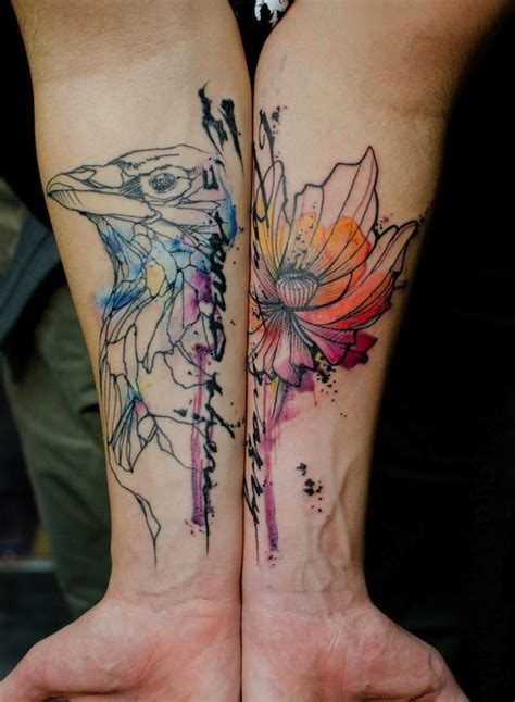 watercolor tattoo france liam thinks beautifully tattoos that look like